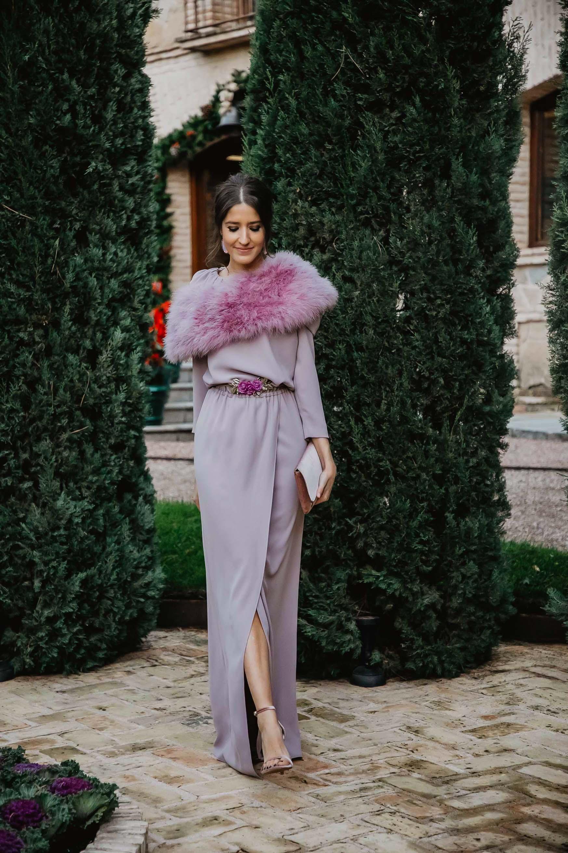Me Sandra Perfecta – De Invitada Largo 5 Lavanda Bgo Vestido By And y7b6YfgvI