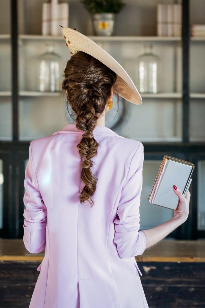 peinado invitada novia 2019 trenza