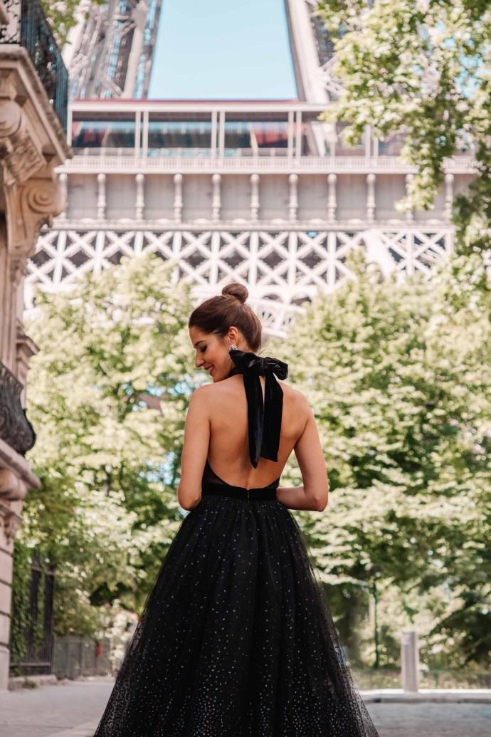 look invitada boda vestido falda tul