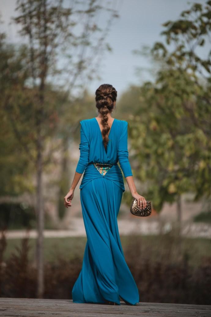 vestido griego invitada boda