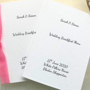 Menu Booklets