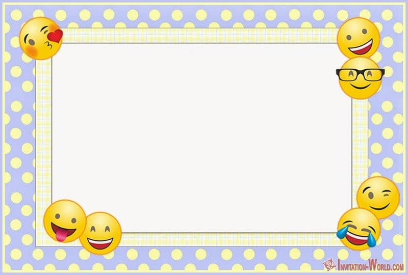 emoji invitations for the perfect party