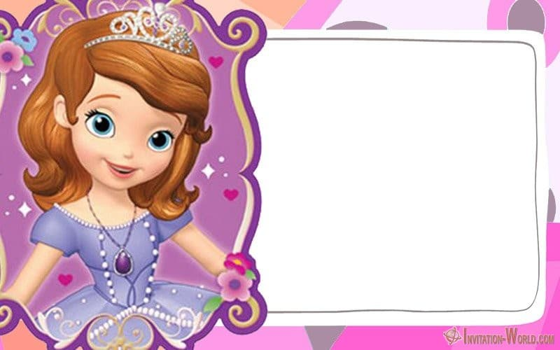 sofia the first free online invitation