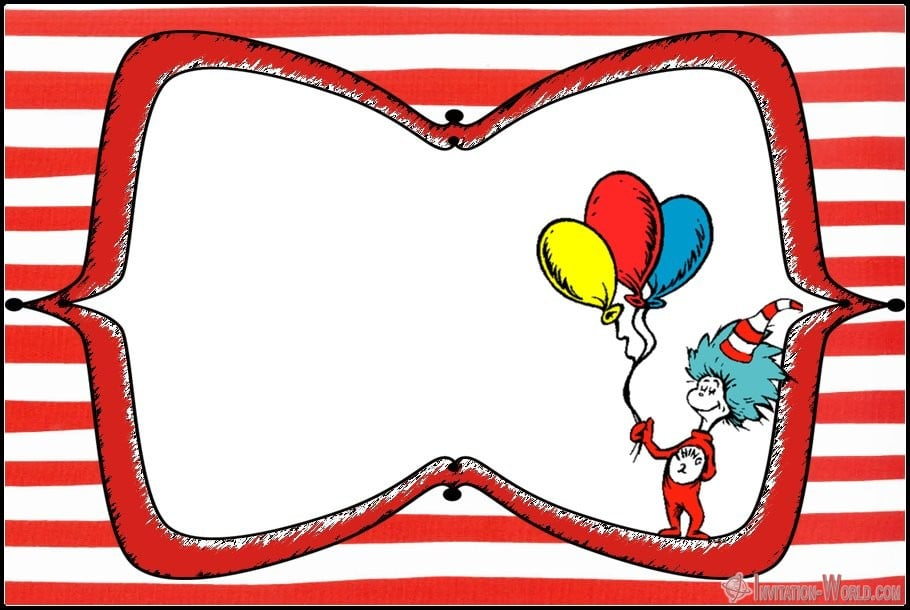 dr seuss invitations for perfect party