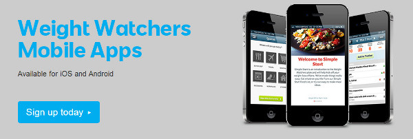 email instant weight watchers mobile apps