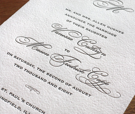 Wedding Invitation Etiquette: Wording Including Parents