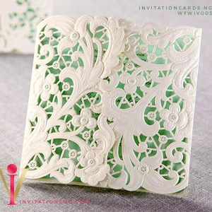 Floral Lace Invitation Card WFWIV003 is now available at invitationsng.com. Call 08173093902