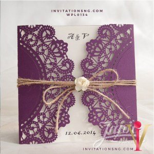 Laser Cut Invitation WPL0134 now available at invitationsng.com. Call 08173093902 or sales@invitatoinsng.com