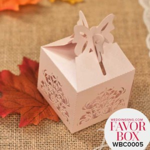 Fantastic Floral Favour Boxes WBC0005 for occasions and events at invitationcards.ng