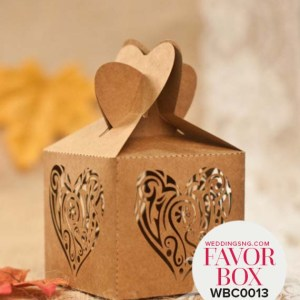 Romantic Heart Wedding Favour Boxes WBC0013 for occasions and events at invitationcards.ng