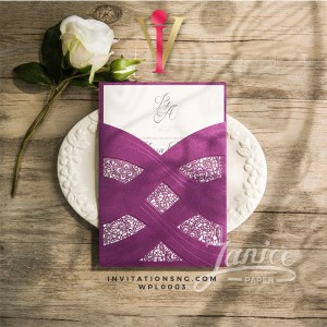 Luxurous Lace Invitation Card WFL0003 is now available at invitationsng.com. Call 08173093902