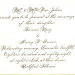 Peacock Inspired Wedding Invitation Etiquette