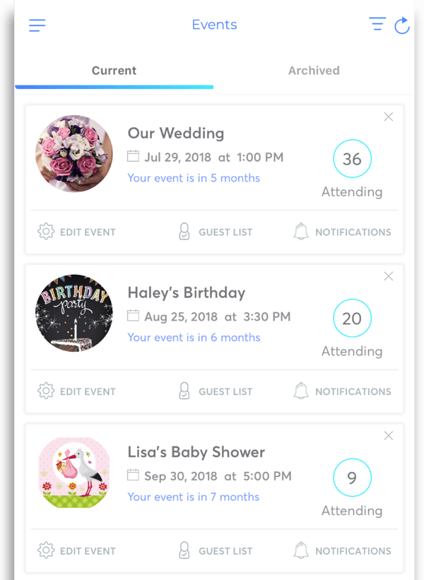Invitation Maker App, RSVP App, Invitation App