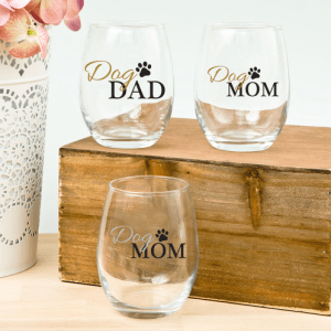 Dog Mom & Dad $15 - 20% of proceeds goes to Second Chance Animal Auction