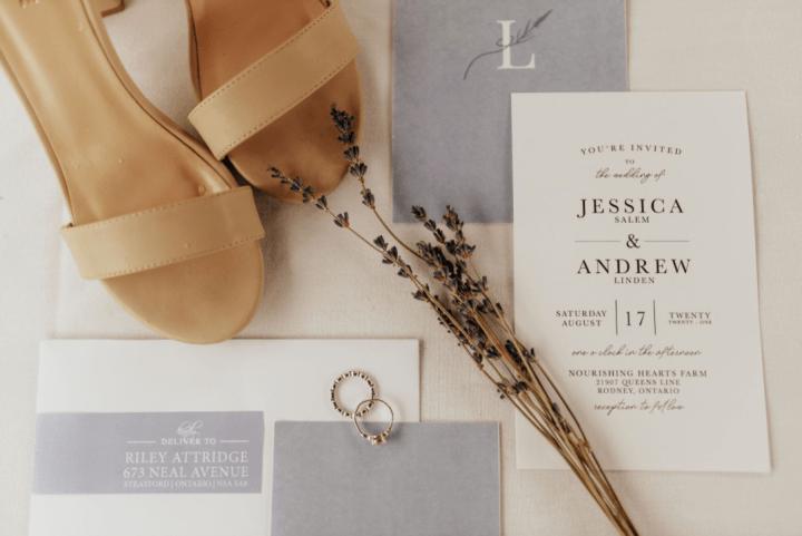 Romantic Lavender Wedding