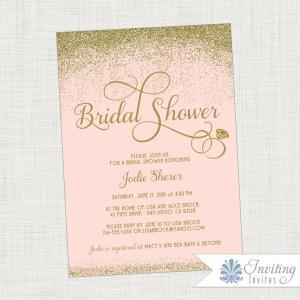 Gold Scatter Bridal Shower