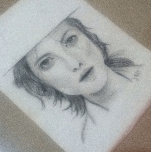 Charcoal & pencil drawing (guess who? lol)