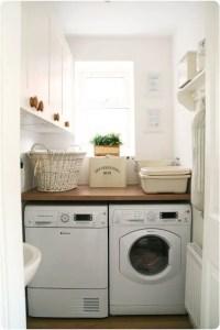 Tiny Laundry Room Ideas - Space Saving DIY Creative Ideas ...