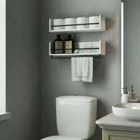 22 Unique Bathroom Shelves Over Toilet Ideas | eyagci.com