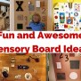 New Sensory Board Pictures 16 Diy Toddler Busy Boards