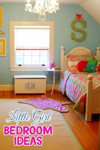 Little Girl Bedroom Ideas and Adorable Canopy Beds for ...