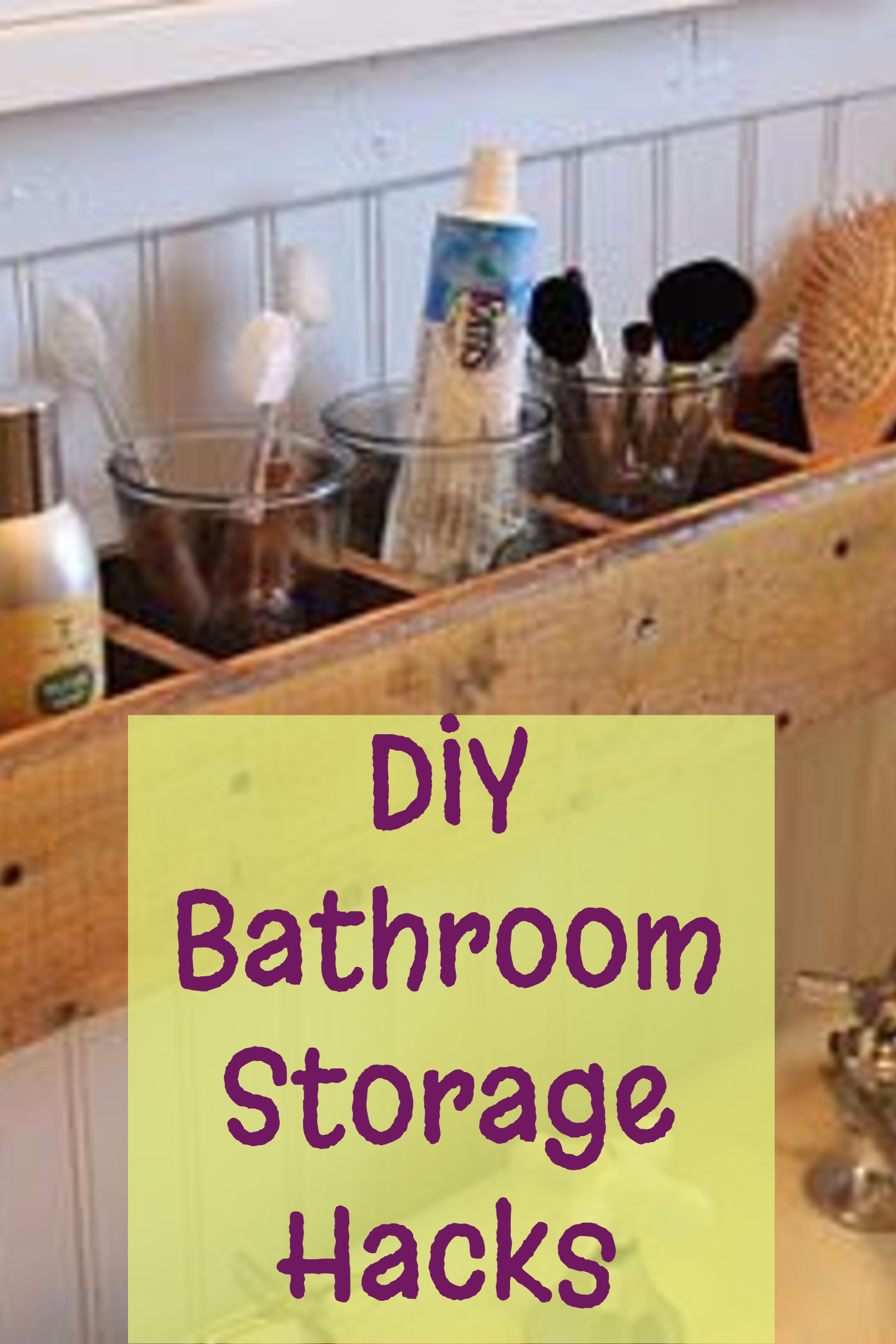 DIY Bathroom Storage And Organization Hacks Involvery