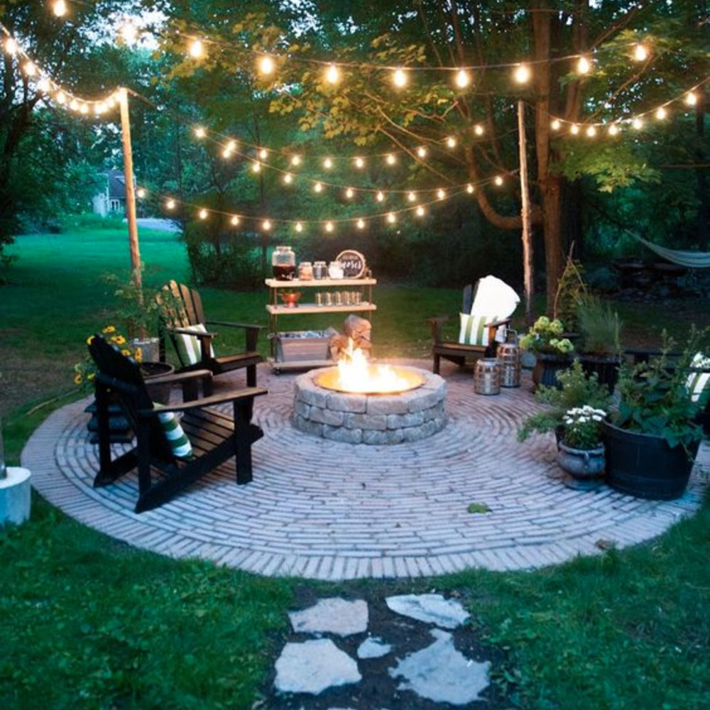 Backyard Fire Pit Ideas and Designs for Your Yard Deck or