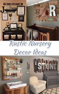 Rustic Nursery Themes PICTURES & Nursery Decor Ideas