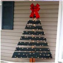 Diy Pallet Christmas Tree Ideas - Involvery
