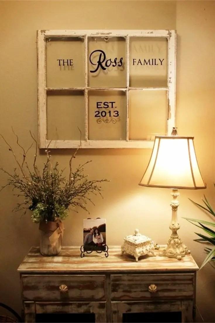 Old Window Frames DIY Ideas and Window Frame Crafts