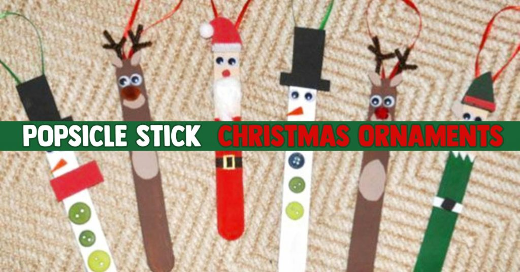 Popsicle Stick Christmas Crafts See The Diy Holiday Ornaments Our Readers Made Clever Diy Ideas