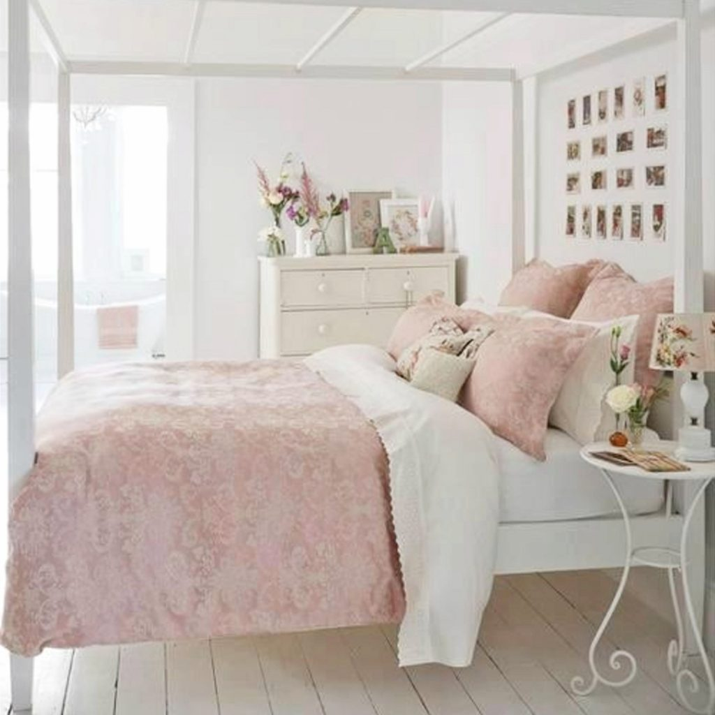 Blush Pink Bedroom Ideas  Dusty Rose Bedroom Decor and