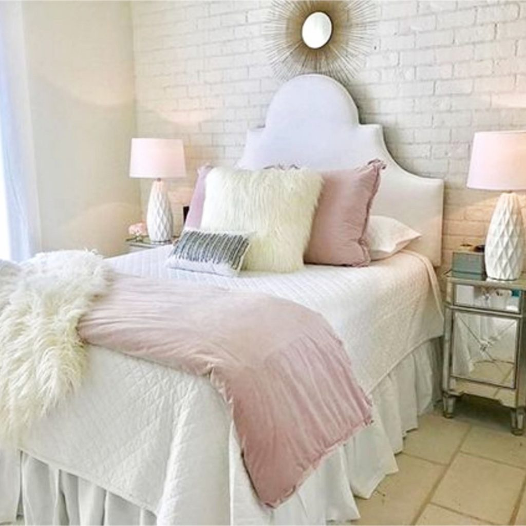 Pink And White Bedroom Ideas Amp Np17 Roccommunity