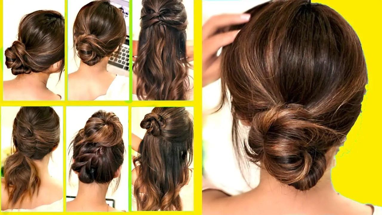 Easy Hairstyles School 10 Minutes