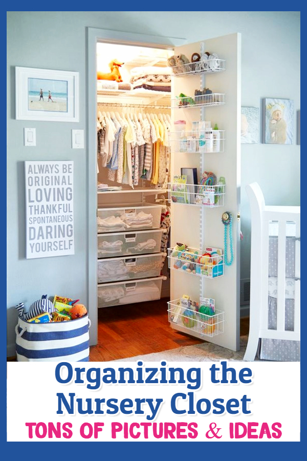Brilliant and Easy Baby Closet Organization and Nursery Closet Design Ideas