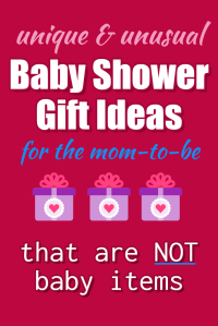 Baby Shower Gifts for Mom (NOT Baby) - November 2018 Gift ...