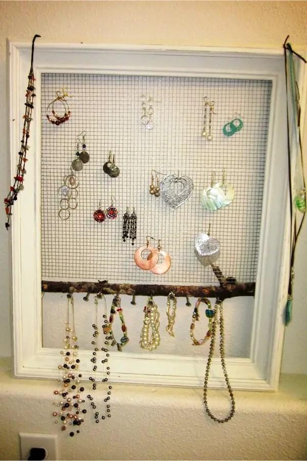 Hanging Jewelry Organizer Ideas  Involvery