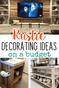 Easy DIY Rustic Home Decor Ideas on a Budget