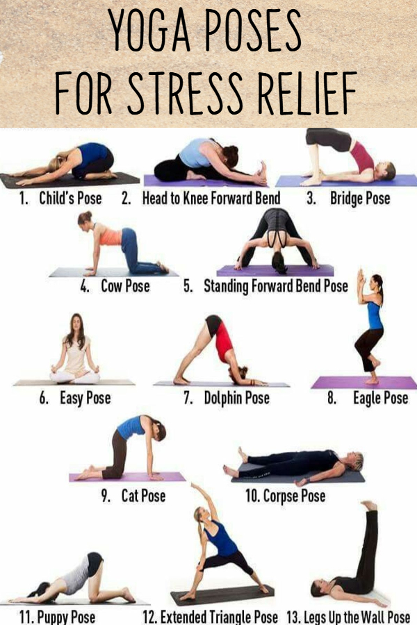 Easy Yoga Poses for Stressed Out Moms  Yoga Poses for