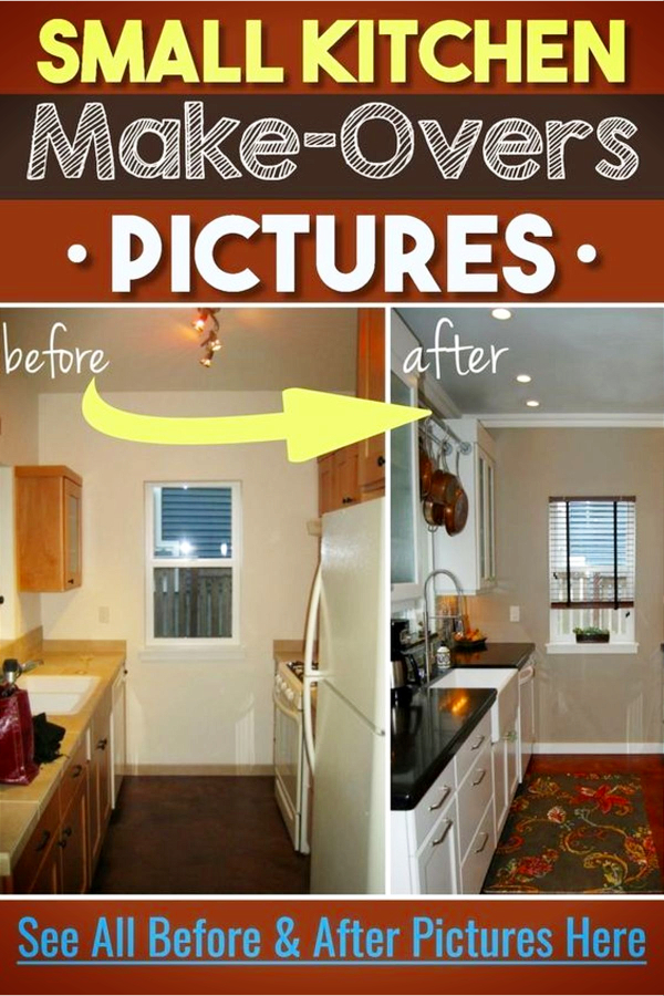 tiny kitchen remodel tops small ideas before after pictures of kitchens