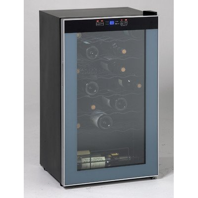 Avanti WC3406 34 Bottle Wine Chiller - with Stainless Trim Glass Door