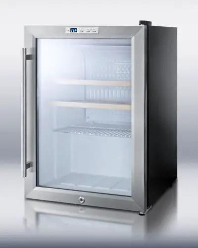 SUMMIT Single Zone Wine Refrigerator SCR312LWC