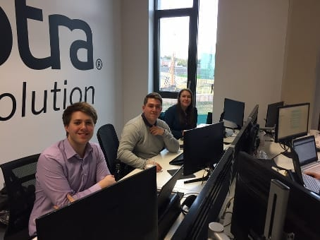 apprentices in the newcastle office