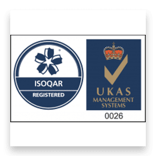ISOQAR registered logo