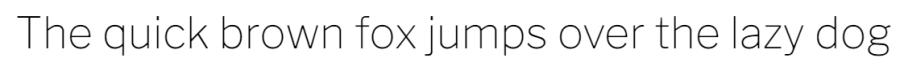 Libre franklin font display