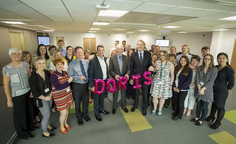 Bracknell Forest Council celebrating the launch of DORIS their new Invotra intranet