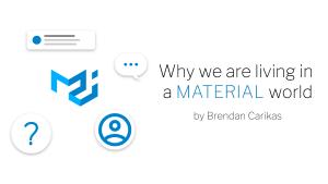 Brendan blog banner - Material world