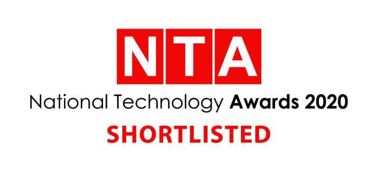 National Technology Awards 2020 logo