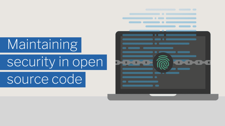 Maintaining security in open source code