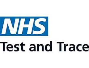 NHS test and trace logo